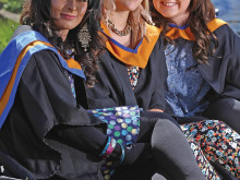 Graduation day joy for college students