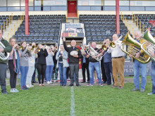 Band launches Rams' Amber anthem