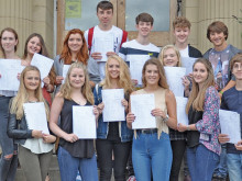 TOP GCSE RESULTS IN THE AREA