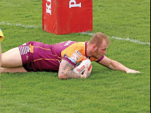 Error by Ainscough hands Fev the points