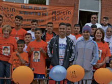 In memory of Arslan ... £4,000 for hospices
