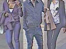 Police seek three suspects who snatched bank card and withdrew cash
