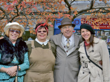 Celebration of vintage in Heckmondwike