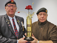 New poppy and shell tribute to town's fallen