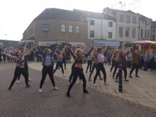 Dance treat for shoppers
