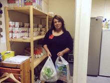 MP's office open for food donations