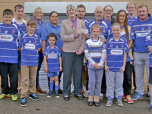 Charity cash windfall boost for community rugby club