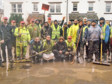 Volunteers get their hands dirty in Cumbria clean-up