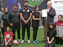 Ammarah's breaking down barriers with new coaching qualification