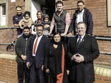Crime commissioner visits Ravensthorpe project
