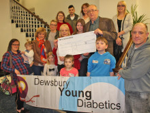 Mayor's cash lifeline for youngsters with diabetes