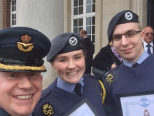 Sky's the limit for air cadet Matthew
