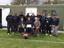 Club's memorial bench tribute to Batley cricket legend Philip
