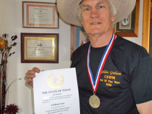 Texas honour for DJ Graham