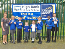 Ofsted accolade for school which makes learning fun and exciting