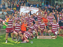 National Cup joy for Trojans' history makers