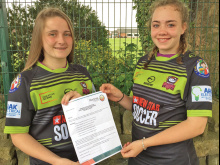 Girls' delight at tour opportunity
