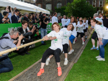 Tug-of-war MP helps pull in cancer cash
