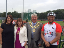 They're off! 260-mile Jo Cox cycle trek starts out
