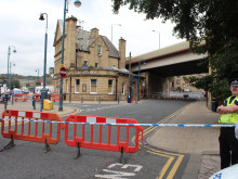 Town lock-down as arrest follows shooting incident
