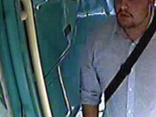 Do you know this man on the bus?