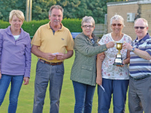 Robinson and Jennings clinch mixed pairs title