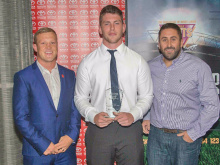 Academy prospect Woollard wins Giants award