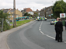 Cyclist killed in collision with bus