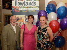 Community group celebrating after Lottery grant