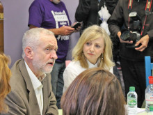 Corbyn in town to battle for Brabin and health service