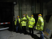 'Home from home' visit for construction students