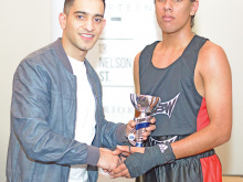 Stars turn out for KBW boxing show
