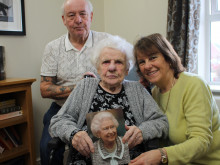 A happy 100th birthday to Margaret
