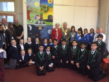 Pupils unite with Rotary