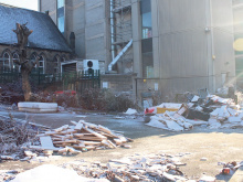 Derelict building and public dump are 'accident waiting to happen'