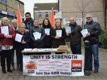 Day of action in Cleckheaton