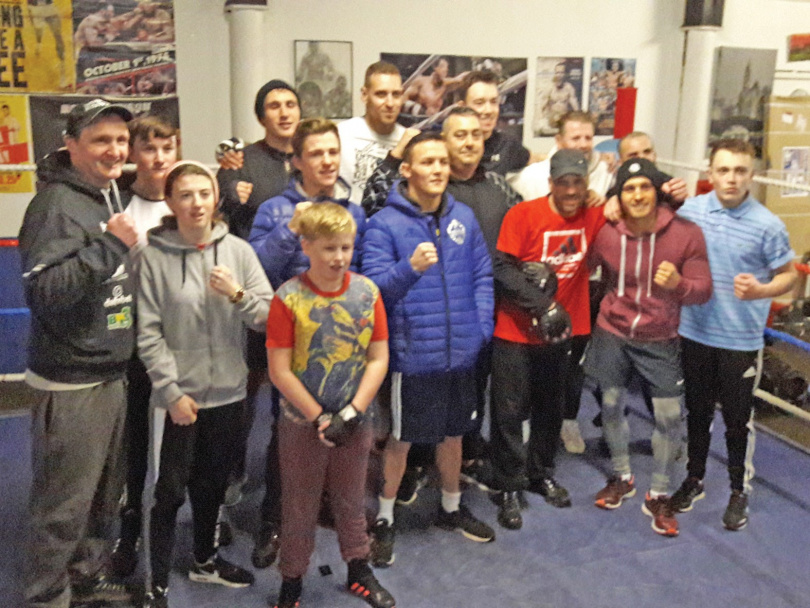 Trinity Boxing relaunch