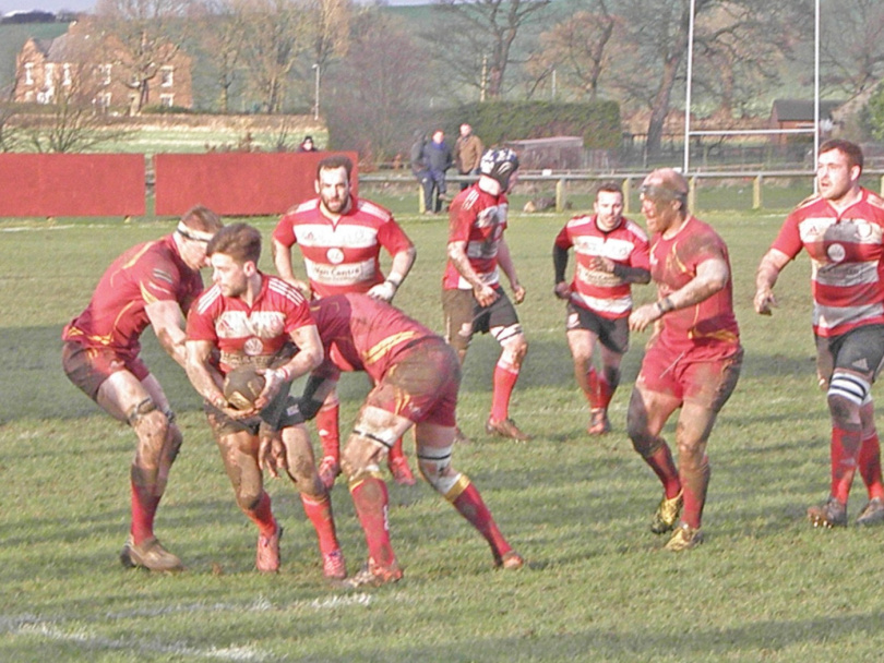 Cleck RUFC struggle on visit to Sandal