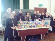MP's praise for food bank