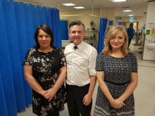 Labour shadow minister backs MPs' Dewsbury hospital fight
