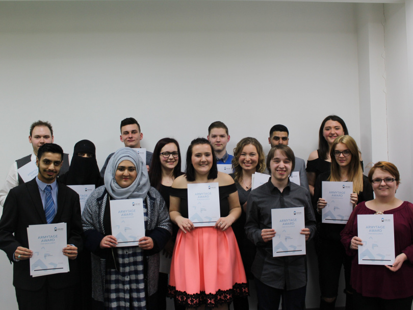 Local winners of college awards