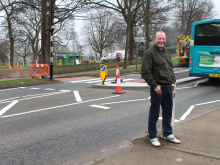 Crossing delight for campaigners