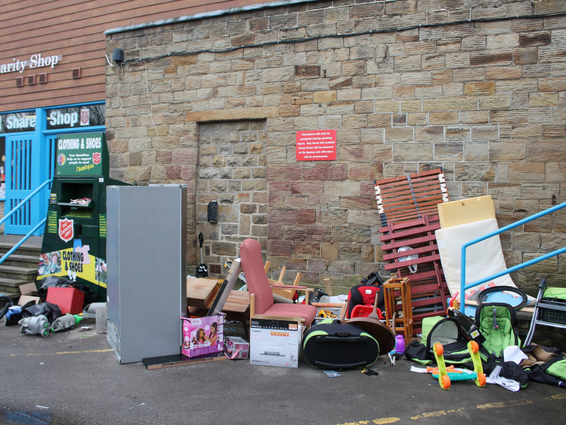 Salvation Army goes to war on tippers