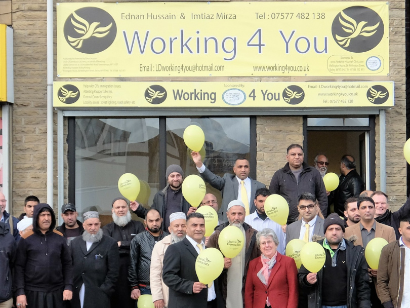 Lib Dems open new office in Ravensthorpe