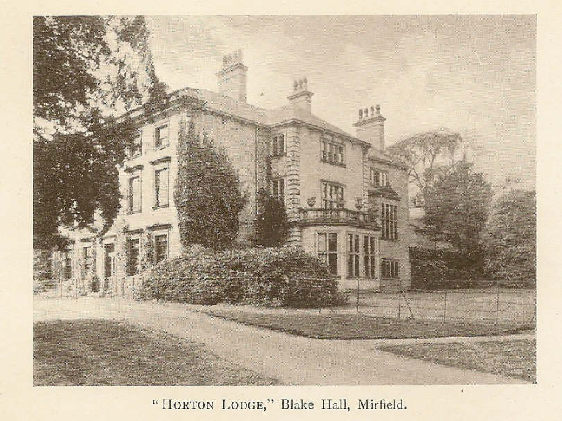 Was this Mirfield hall the 'Horton Lodge' of Anne Bronte fame?