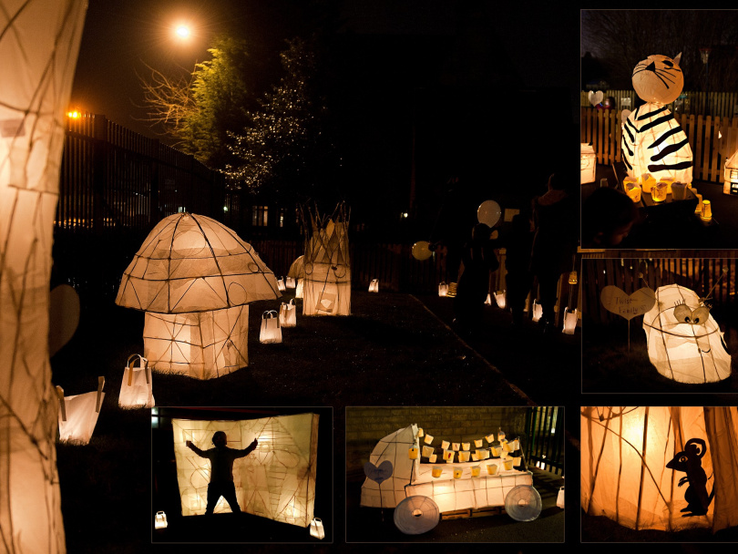 'Around the World' theme to Lantern Land illuminations