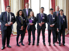 'Tycoon' students wow the Dragon and the Duke to lift enterprise award