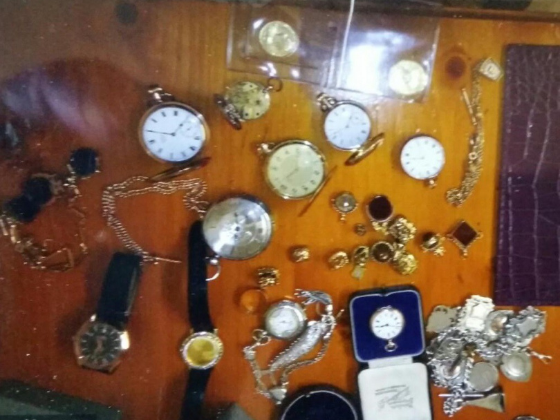 Collection of watches stolen
