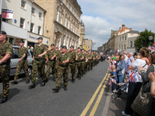 Rifles in Freedom march to honour VC heroes