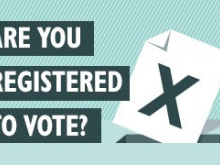 Monday deadline for voter registration
